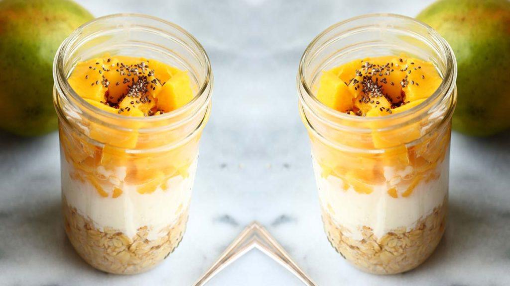 Рецепт смузи манго орехи