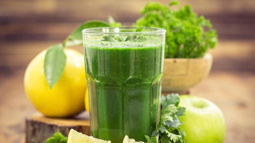 Рецепт смузи зеленый