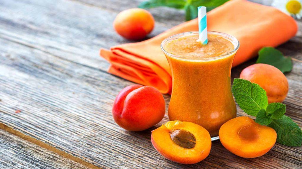 Рецепт смузи абрикос