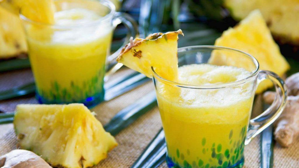 Рецепт смузи ананас