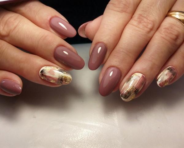 Осенний лак для ногтей