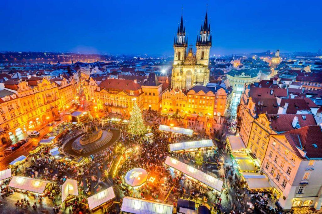 Новогодние каникулы: Отдых в Праге