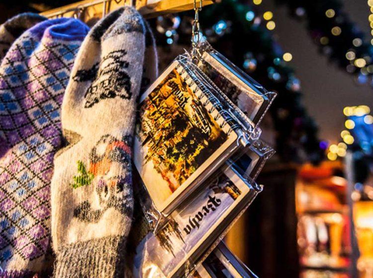 Новогодние подарки в Праге