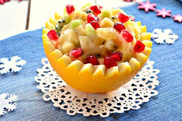 Салат «Десертный» к Новому году